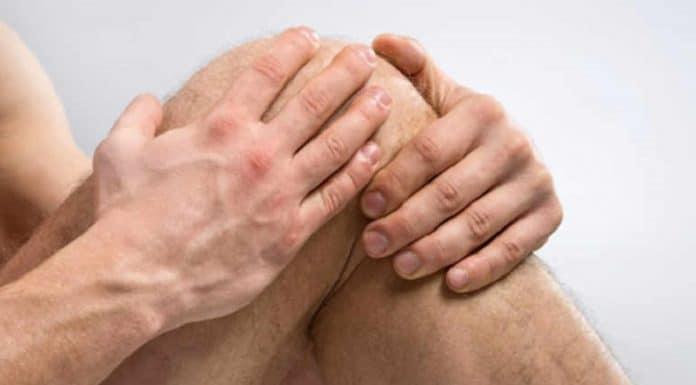 Les douleurs aux genoux lors d'une flexion